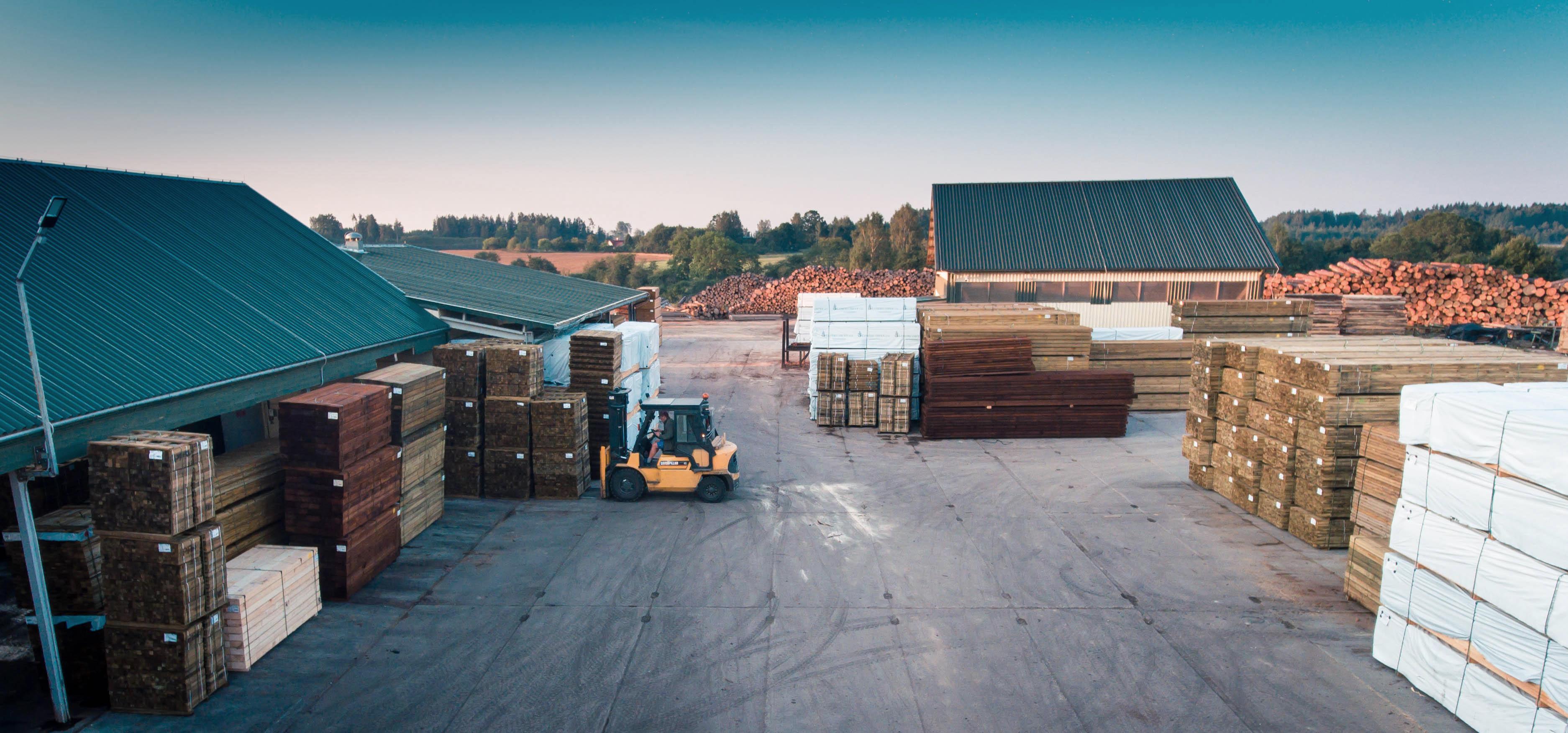 kokmateriālu ražošana