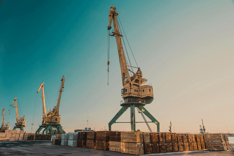 kokmateriālu ražošana un eksports