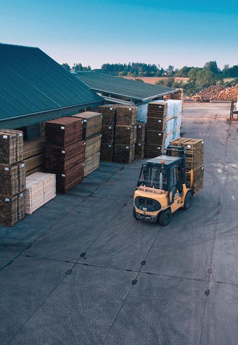 kokmateriālu-ražotne